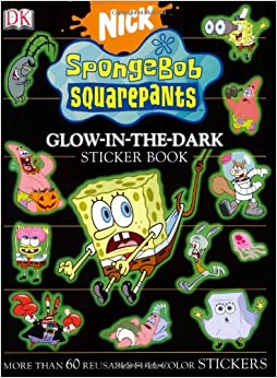 SpongeBob SquarePants Glow-in-the-Dark Sticker Book