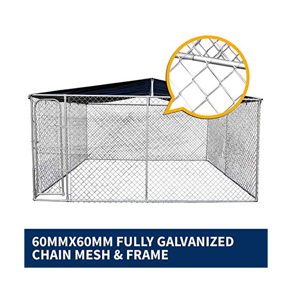 New Pet Dog Kennel Enclosure Playpen Puppy Run Exercise Fence Cage Play Pen A3 Click on image for further info. 6