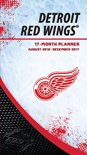 Price comparison product image Turner Licensing Sport 2017 Detroit Red Wings 17 Month Planner (17998890603)