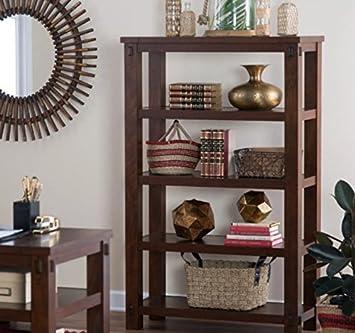 Amazon.com: Small Bookcase, Narrow Bookcases, Horizontal ...