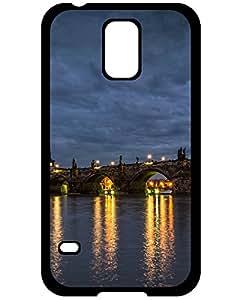 Valkyrie Profile Samsung Galaxy S5 case case's Shop Cheap Awesome Design Charles Bridge Prague Hard Case Cover For Samsung Galaxy S5 6462403ZE882109155S5