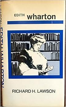Edith Wharton (Modern Literature Monographs)