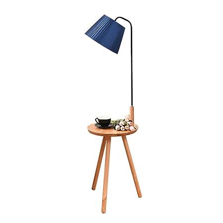 Lámpara de pie Mesa de Centro Minimalista nórdica de la Sala Tres ...