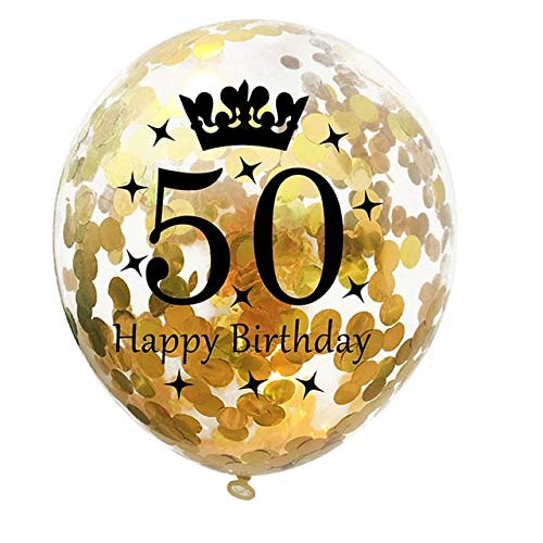 LRLRLQQ 30 40 50 60 70 80 Cumpleaños Años Globo De Confeti ...