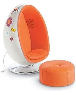 American Girl Julieu0027s Egg Chair Set