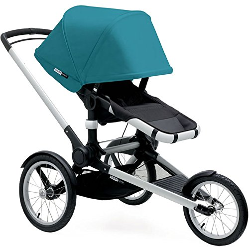 Bugaboo 2016 Runner Complete Stroller, Petrol Blue