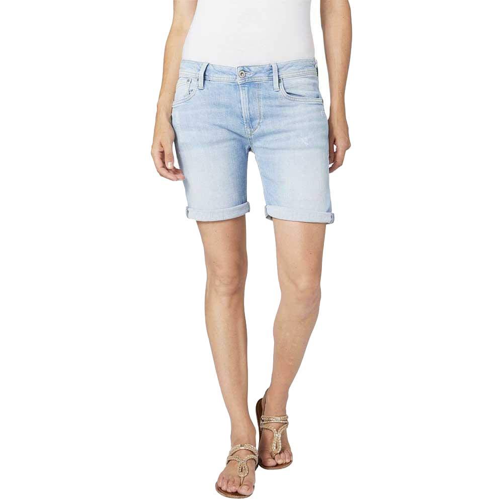 Pantalones Cortos Mujer Pepe Jeans Poppy Pl800493