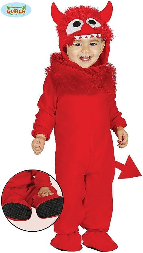 de 6 /à 12 Couleur Rouge 85829 Giurca sl.- Costume Diable b/éb/é 6//12 Mois