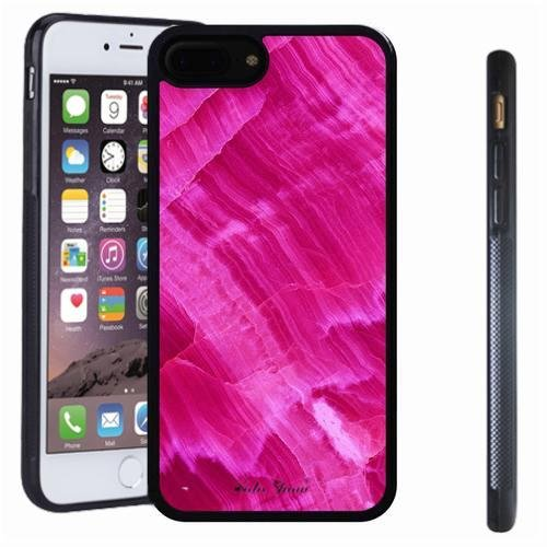 iphone 7 8 Plus case, SoloShow(R) Slim Shockproof TPU Soft Case Rubber Silicone for Apple iphone 7 8 Plus [Hot pink]