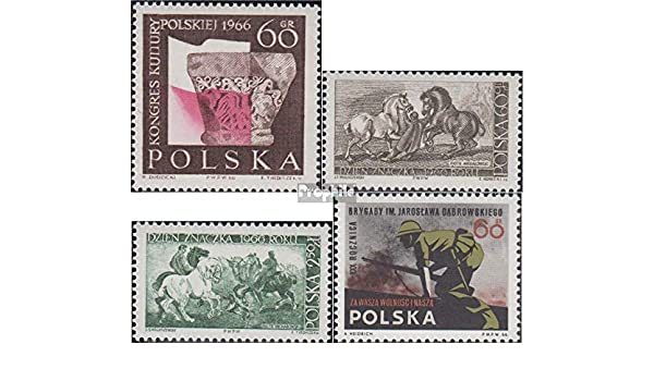 Prophila Collection Polonia Michel.-No..: 1714,1715-1716,1717 ...