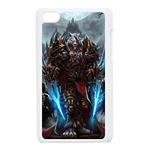 Designed With World Of Warcraft Pattern , Fit To iPod Touch 4