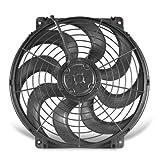 "Flex-a-lite 394 S-Blade Black 14"" Electric Fan"