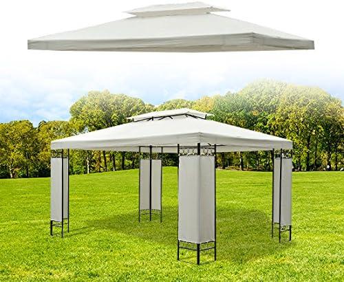 Lienzo de techo de repuesto para cenador Gazebo Tienda de campaña jardín: Amazon.es: Jardín