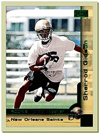 2000 SkyBox #227 Sherrod Gideon RC Rookie NEW ORLEANS SAINTS SOUTHERN MISSISSIPPI at Amazons Sports Collectibles Store