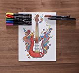 Sharpie Art Pens, Fine Point, Assorted Colors, Hard Case, 8 Pack
