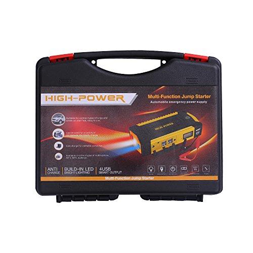 otmake 500A Peak 16800mAh 12-Volt Portable Car Jump starter Booster Battery Charger Power Pack Vehicle by otmake (Image #1)
