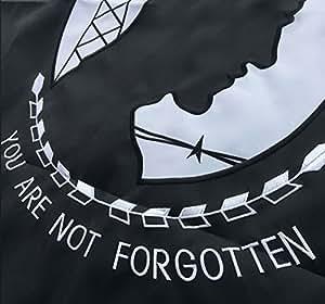 winbee bordado Pow Mia bandera–larga duración de nailon, doble cosido rayas y ojales de latón, con protección contra rayos ultravioleta, mejor nosotros banderas militares