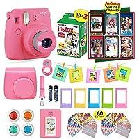 Fujifilm instax Mini 9 Instant Camera Flamingo Pink + 20...