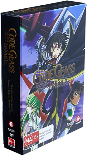 - Code Geass Complete Series | 10th Anniversary | Ltd Ed | 12 Discs | Anime | NON-USA Format | PAL | Region 4 Import - Australia