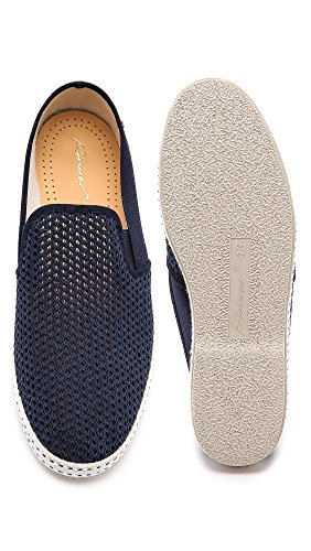 Mesh Canvas Loafer Womens Leisure Marine Rivieras Unisex 0E7qAW