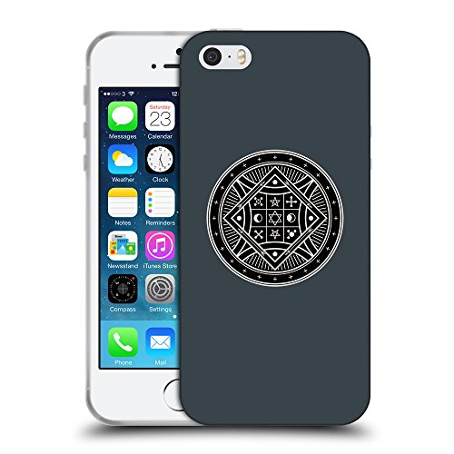 GoGoMobile Coque de Protection TPU Silicone Case pour // Q08290606 Mystique occulte 8 Arsenic // Apple iPhone 5 5S 5G SE