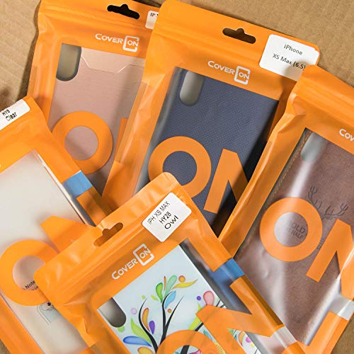 CoverON Wholesale Lot of 50 Bulk Apple iPhone Xs Max Phone Cases - Various Styles/Colors from CoverON