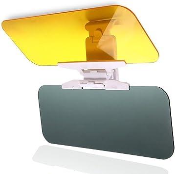 MONOJOY Auto Sonnenschutz Blendschutz Auto Blendschutzfolie Sonnenblende Verl/ängerung Tag und Nacht Fahren HD Frontscheibe Windschutzscheibe Blendschutz f/ür die Auto Sonnenblende