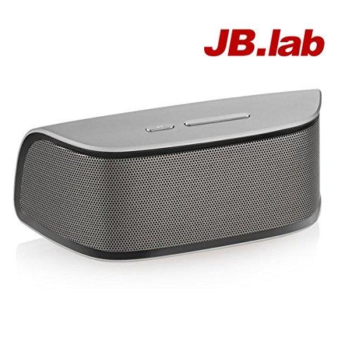 [JB.lab] Full Range Bluetooth Speaker High Resolution Series HRS-10XB HiFi Sound (Silver)