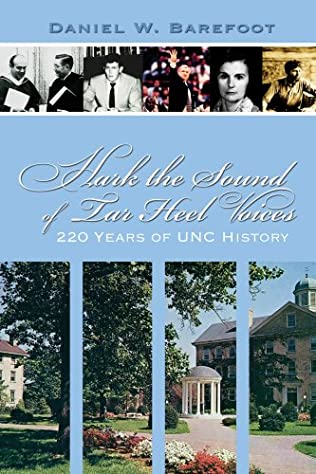 book cover of Hark the Sound of Tar Heel Voices