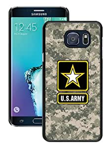Unique Samsung Galaxy S6 Edge+ Skin Case ,Fashionable And Durable Designed Phone Case With United States Army Black Samsung Galaxy S6 Edge Plus Screen Cover Case