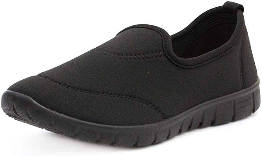 Lilley Womens Casual Slip On Pump in