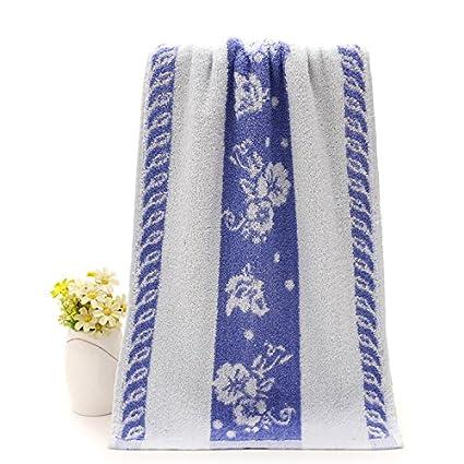 XXIN Cara Toallas Toallas Jacquard Descontinuados Inicio Productos Toallas Diario De Pequeñas Flores Azules DE 73
