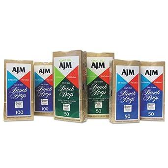 Amazon.com: AJM embalaje bolsa de almuerzo – -1200 por Caso ...