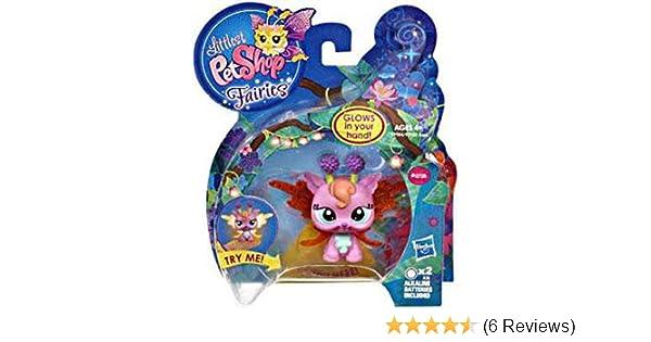 Hasbro Littlest Pet Shop Fairies Light Up Lotus Lily Fairy Figure #2728