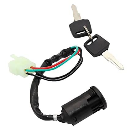 Ignition Switch Key 5 Wire 110cc 125cc 150cc Pit Quad Dirt Bike Atv Buggy Automobiles & Motorcycles