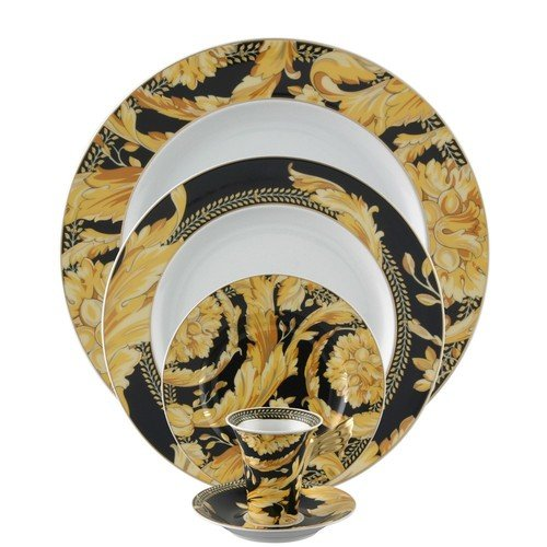 Versace by Rosenthal Vanity 5 piece place setting