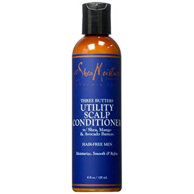 Shea Moisture Three Butters Utility Scalp Conditioner, 4 Ounce
