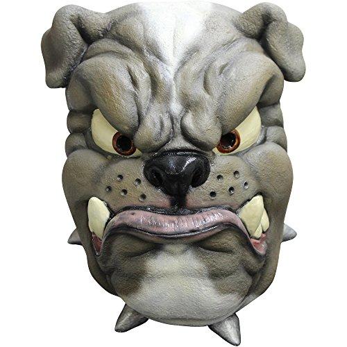 Ghoulish Masks Adult Cartoon Bulldog Halloween Animal Mask -