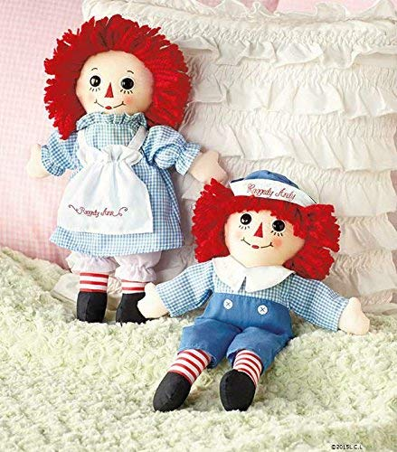 Doll Set Andy (Raggedy Ann® & Andy® Cotton Fabric 12