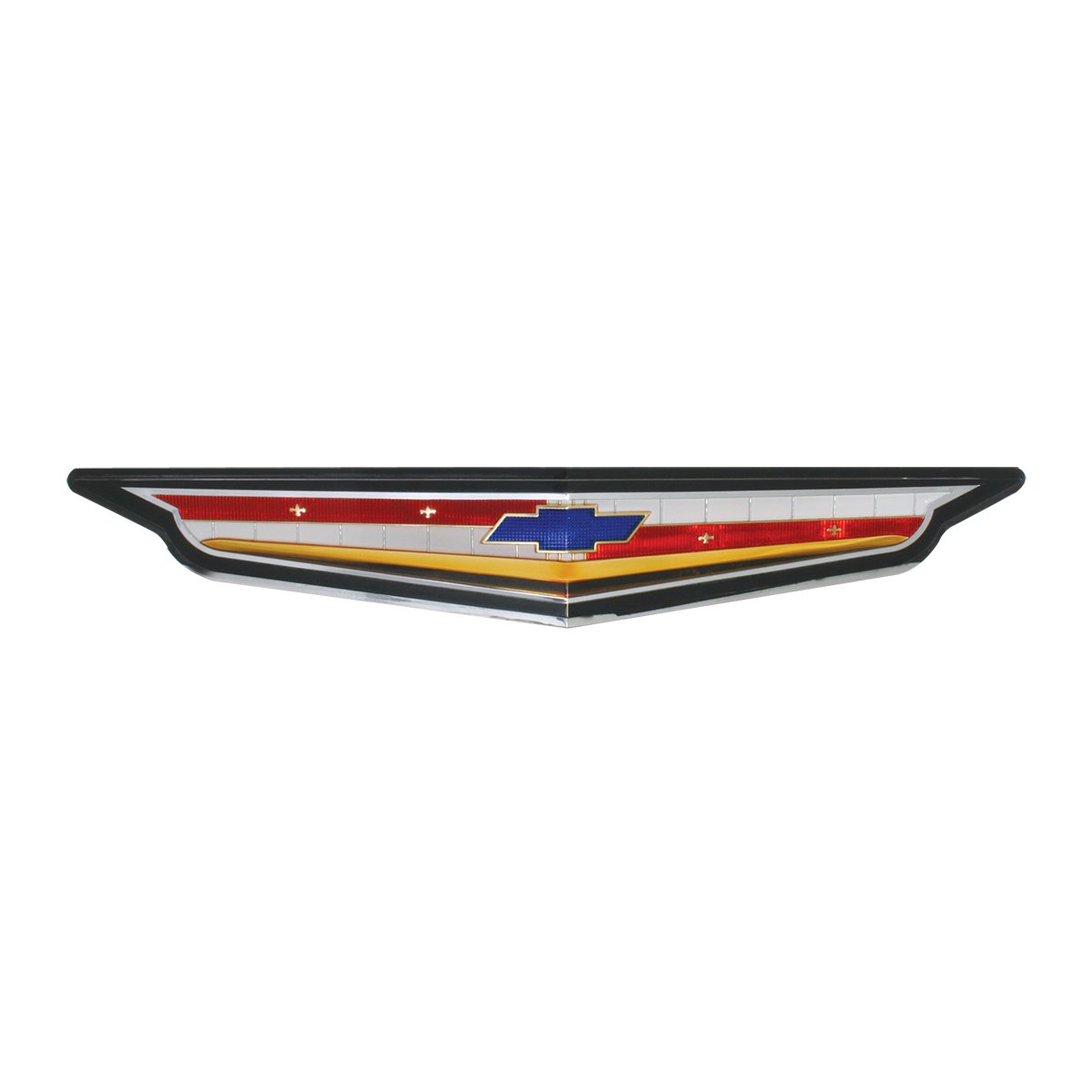 Biscayne KNS Accessories KC4527 1961 Chevrolet 283 Front Hood Emblem for Impala Bel Air