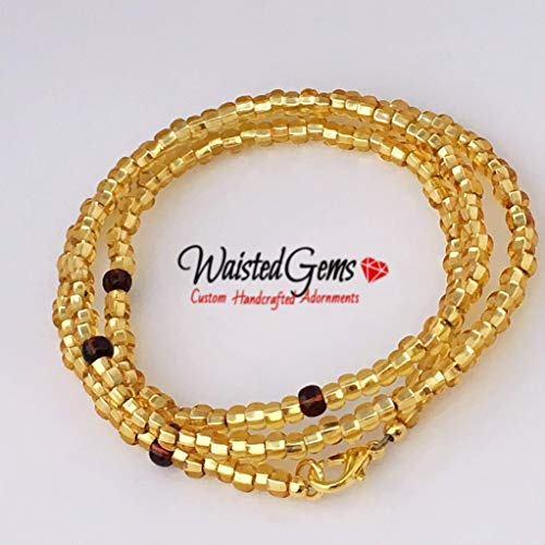Gold Waist Beads, Summer Jewelry, Beach Wear, Waistbeads, African Waist Beads, Gifts for her, Gold Belly Chain, Gold Bikini For Sale