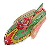 MagiDeal Classic Inertia Rocket Racer Tin Toy Kids/Children/Adult Collectible Toys