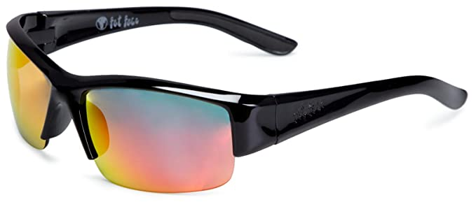 4cdb4d2565 Fat Face Tornado Black Unisex Adult Sunglasses Black  Amazon.co.uk  Clothing