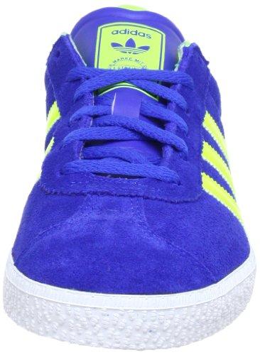 adidas Originals Q22889 - Zapatillas de Piel Unisex Niños Blau (TRUE BLUE / ELECTRICITY / RUNNING WHITE FTW)