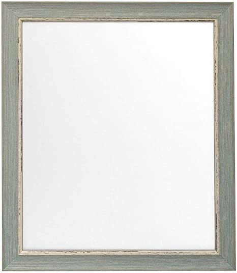 Scandi Distressed Blue Photo Picture Frames Available In 37 Sizes A2 A3 A4 20x16