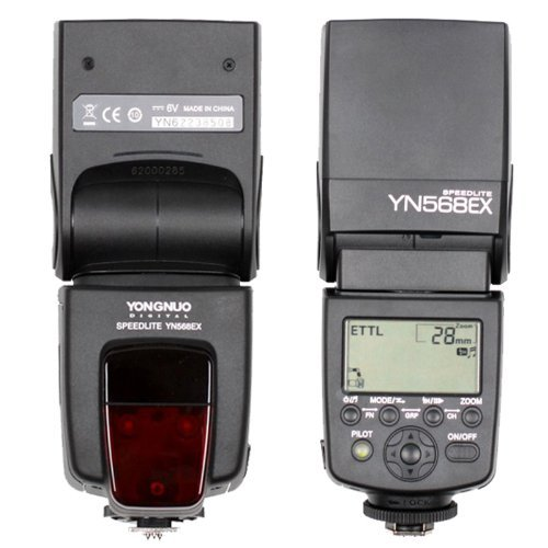 CE Compass Yongnuo YN568EX Wireless Slave TTL Flash Speedlite Speedlight W/ HSS 1/8000 for Canon 550D 600D 5DII 5DIII 650D (Wireless Hot Shoe Flash)