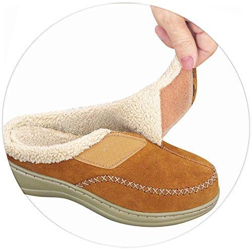 Orthofeet Charlotte Womens Slippers