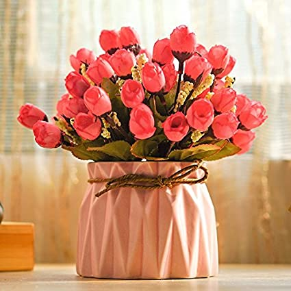Emulación de flores secas flores de seda flor ramo de rosas ornamentos florales decoración floral falsos