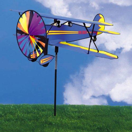 Airplane Spinner - Biplane by Premier Kites B000LZBEMM