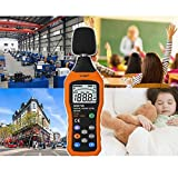 VLIKE Noise Sound Level Meter, Digital Decibel